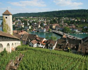 Every Charming Town is a Beautiful Highlight of the Swiss Lakes and Mountains