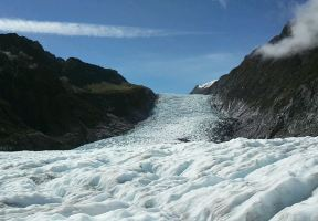 Ascend Into The Sky and Back Down to The Ground. Climb Along Ice and Explore A Cave. Hike on Foot and Enjoy The Charm of The Fox Glacier