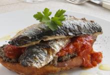里斯本美食图片-烤沙丁鱼