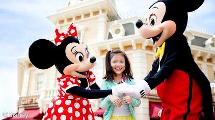 1 米奇米妮在梦想花园等着与您见面!_香港迪士尼乐园