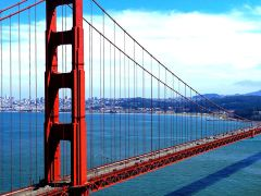 10日旧金山+洛杉矶+拉斯维加斯·一号公路+射击跳伞