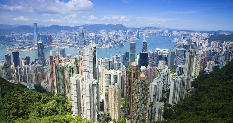 Best View Of Hong Kong Skyline From Victoria Peak