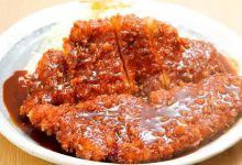 名古屋美食图片-味噌炸猪排