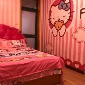 青島海貝主題海景日租房公寓