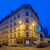 巴黎民族拉雪茲神父舒適酒店