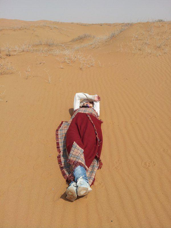 明天再走一天走出沙漠!圖片