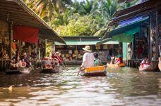 泰国 曼谷 水上市场-曼谷-缪韻