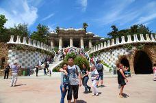 加泰罗尼亚广场-巴塞罗那-小瓷