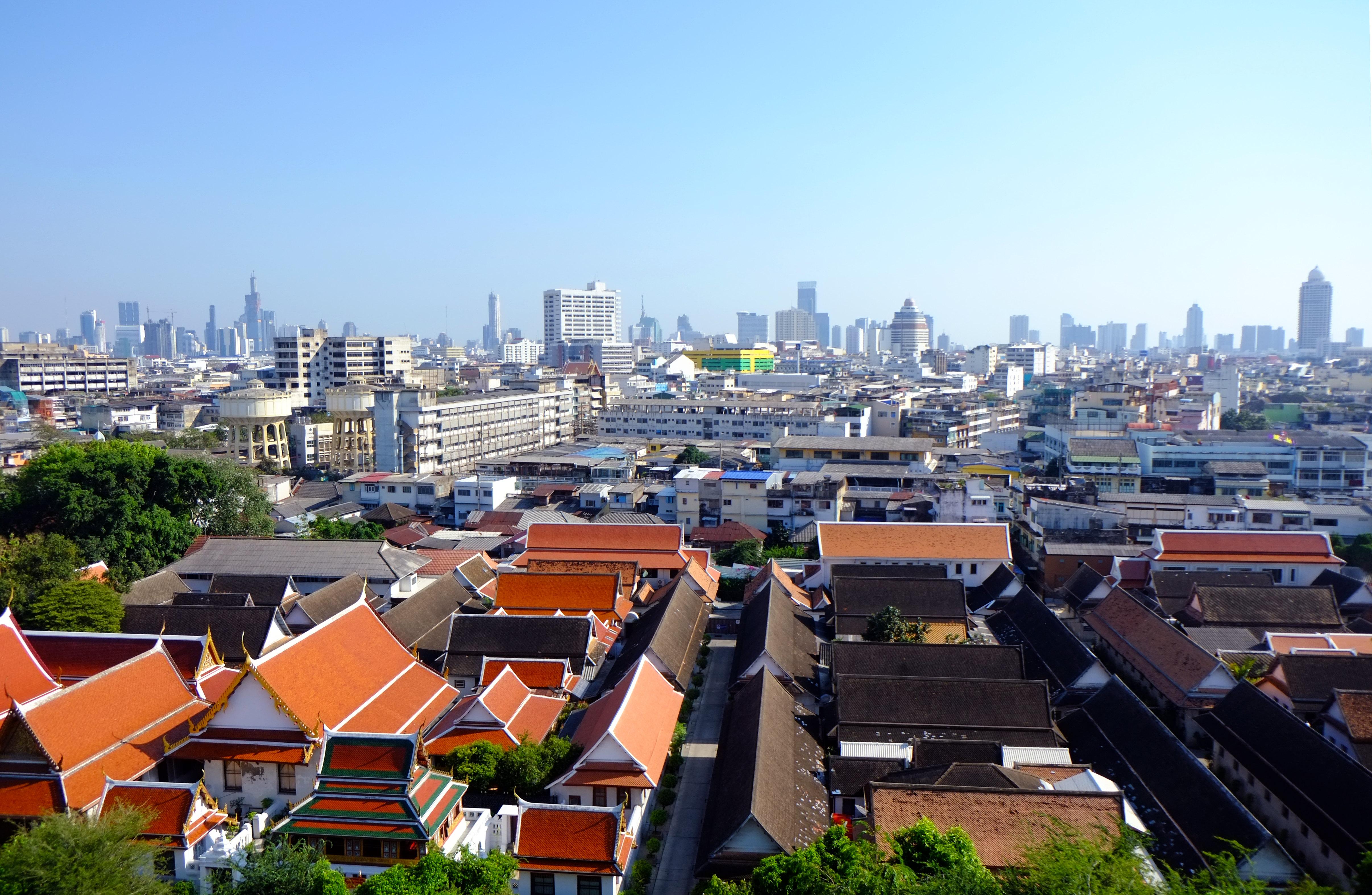 金山寺  Wat Saket   -4