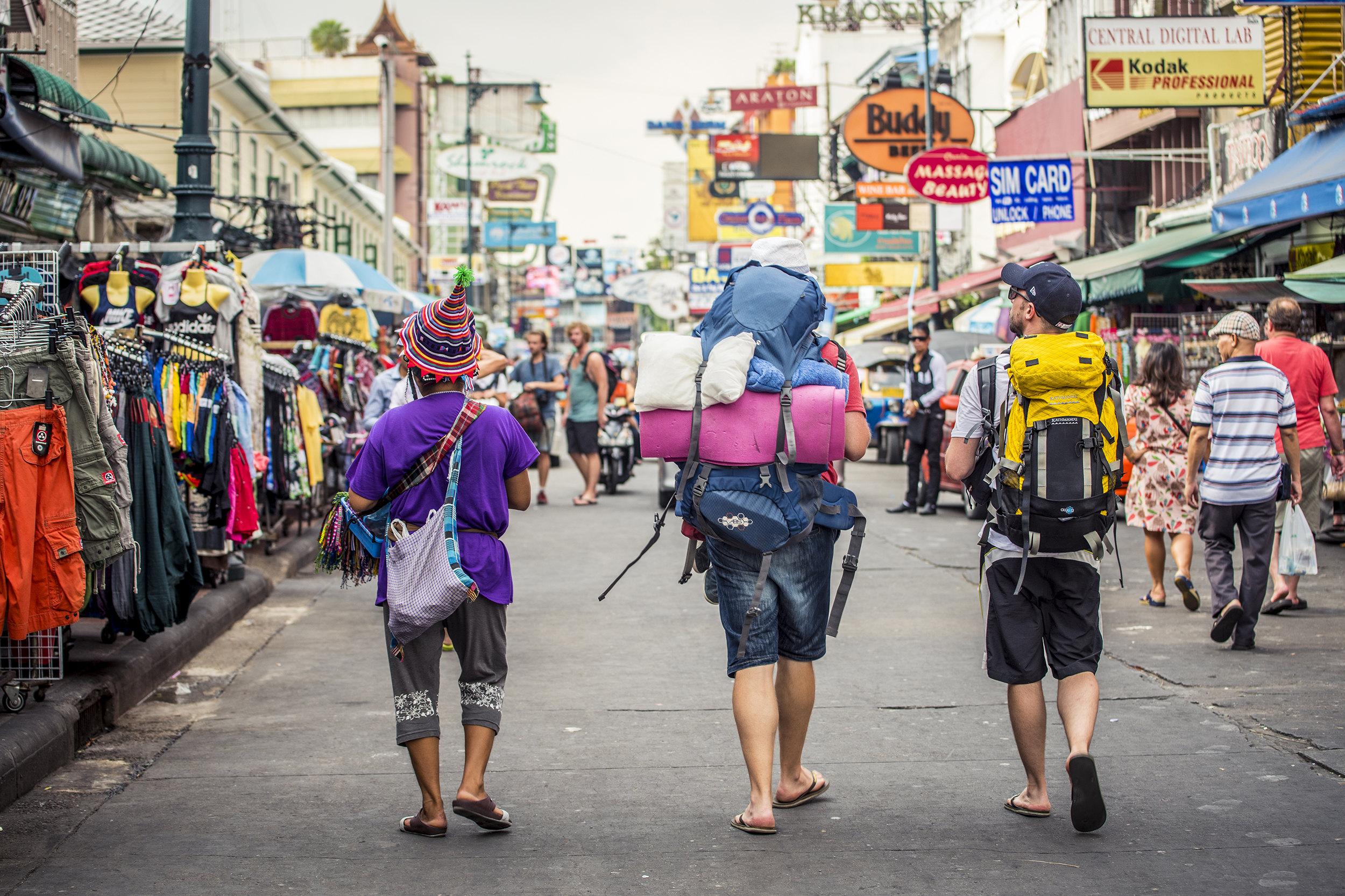 考山路  Khao San Road   -3