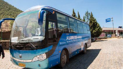 泸沽湖环湖观光车
