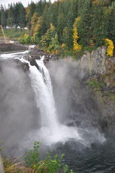 斯诺夸尔米瀑布-西雅图-云雄