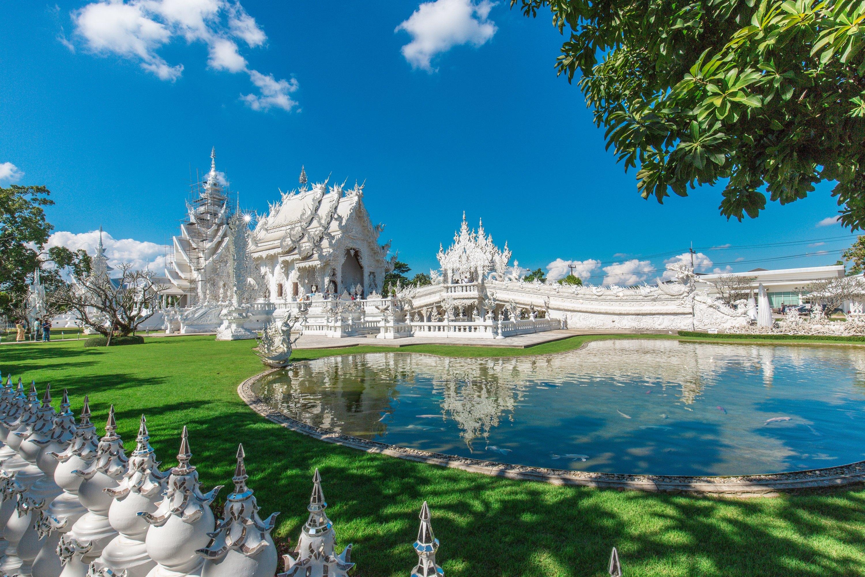 白廟  Wat Rong Khun   -3