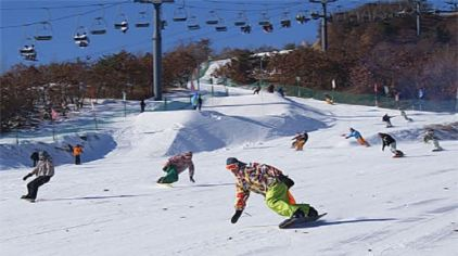 铭湖国际滑雪场