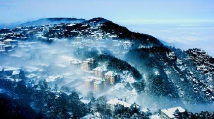 庐山冬景2