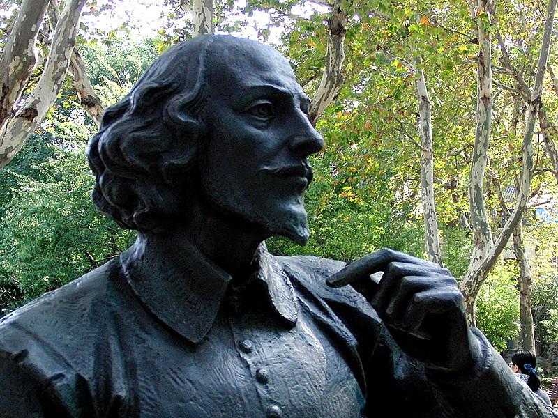 """莎士比亚:""""生存还是毁灭,这是个值得思考的问题."""""""