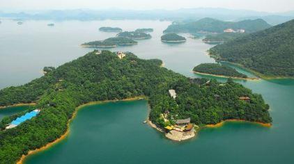 柘林湖全景4