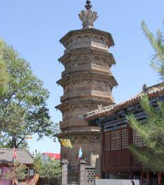 定州游记图文-涞源的兴文塔