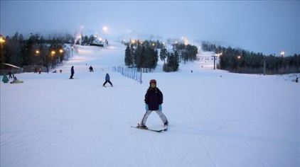 亚布力新体委滑雪场15