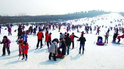 茶山滑雪场5