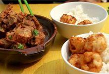 青岛美食图片-排骨米饭