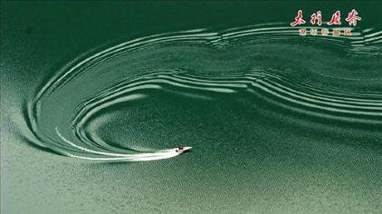 太行屋脊静湖一舟