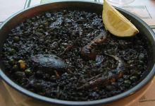 巴塞罗那美食图片-墨鱼饭