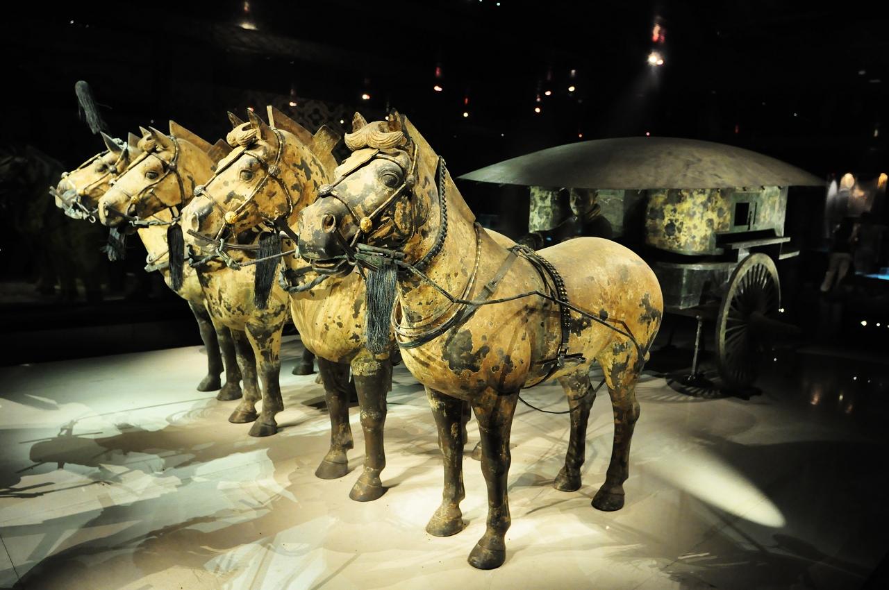 秦始皇兵馬俑博物館    -1