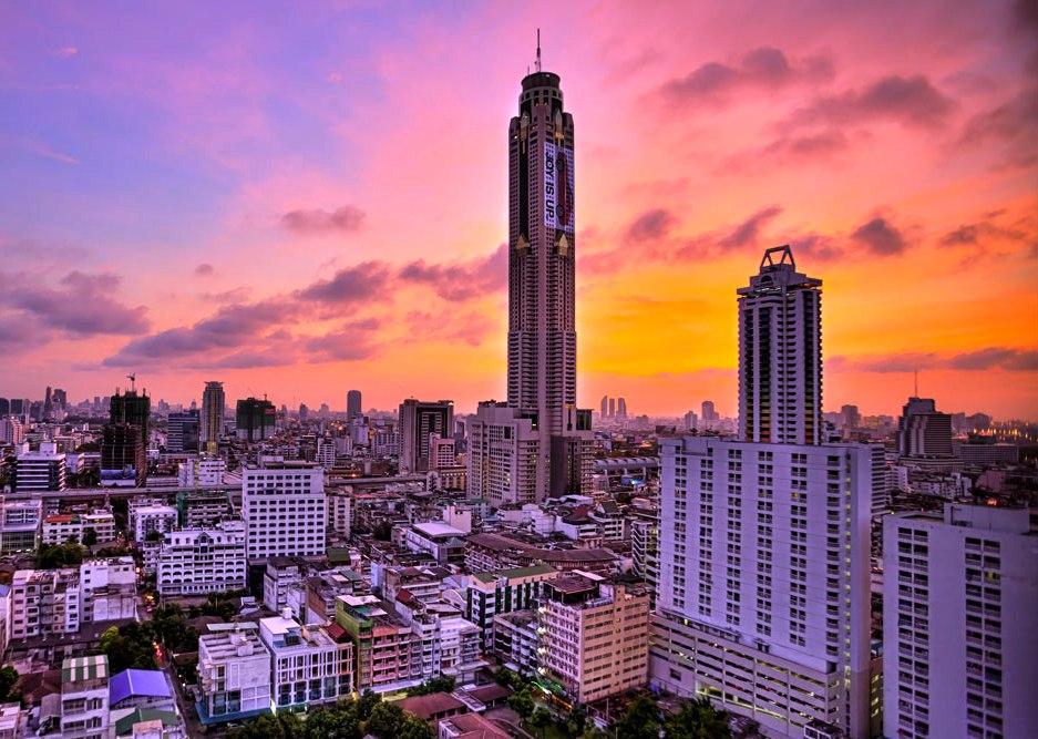 방콕 바이욕 스카이 뷔페 식사권 (런치/디너)